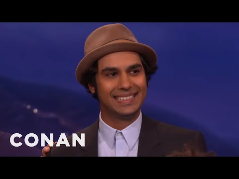 "The Cast Of ""The Big Bang Theory"" Loves To Rag On Kunal Nayyar  - CONAN on TBS"