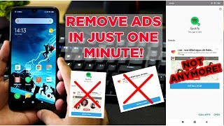 Removing ADS from Xiaomi Device in just 1 minute! New Trick!
