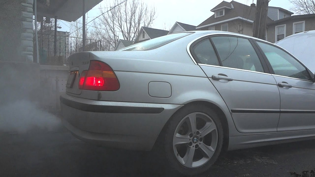 Crankcase Vent Valve Issue Bmw 2004 E46 Youtube