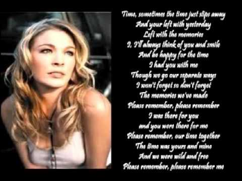 LeAnn Rimes - Please Remember (+ lyrics 2000)