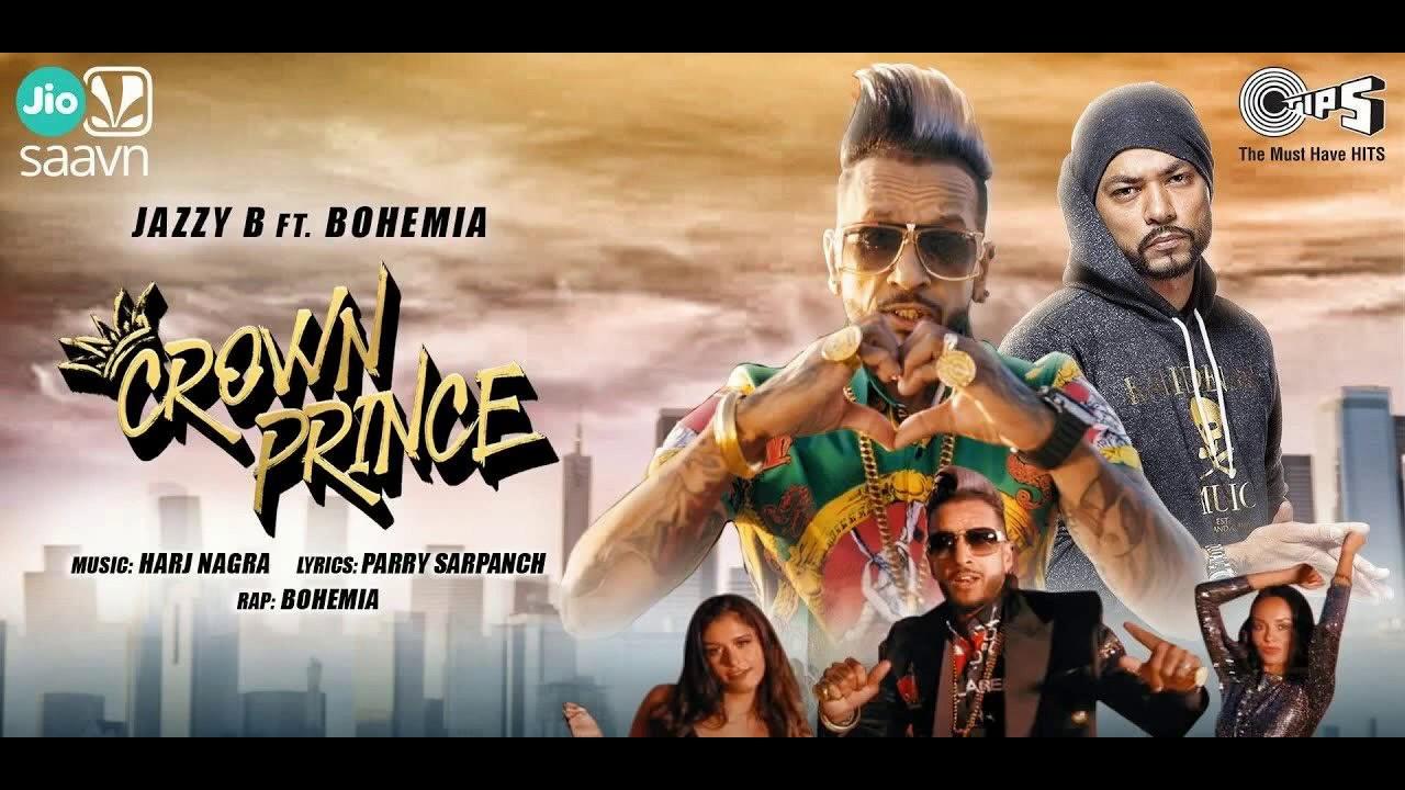 CROWN PRINCE(new song) Jazzy B feat. Bohemia | Harj Nagra | Latest Punjabi Songs 2020