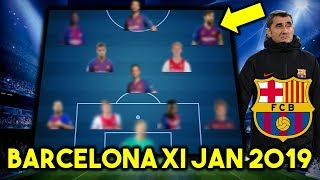 Welcome to footaholics ! bringing you the latest and best football videos, news content. fc barcelona possible line up xi january 2019 ft de ligt, jon...