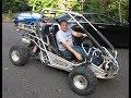 250cc Hammerhead Go Kart in real need of repair