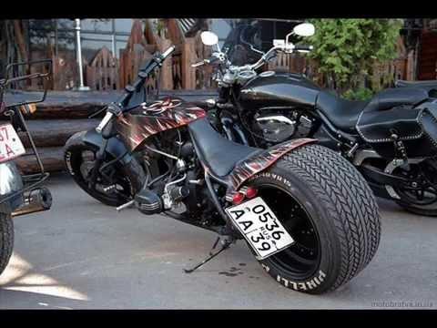 Тюнинг советских мотоциклов - кастом мотоциклы МТ