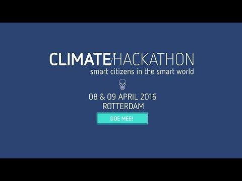 Aankondiging Climate Hackathon 2016