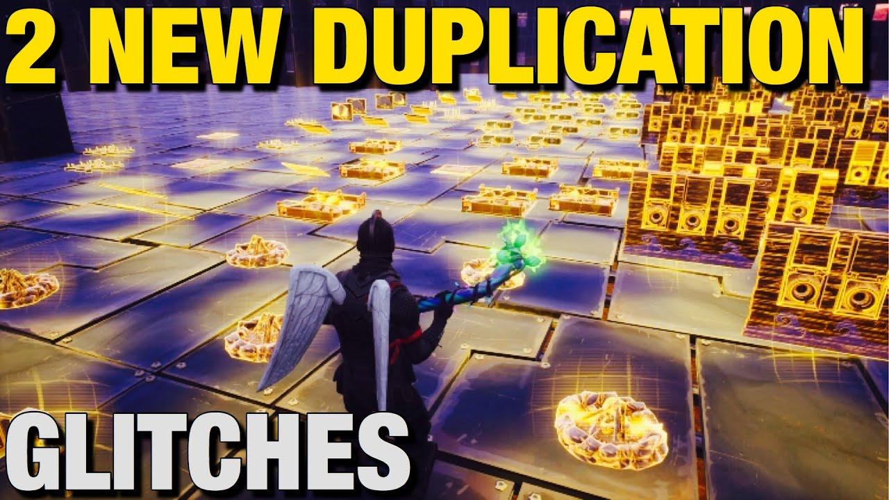 2 New Duplication Glitches ! (Chapter 2 Season 3) Fortnite Save The World