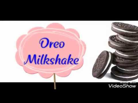 how to prepare oreo shake