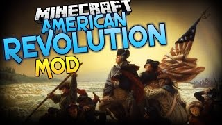 Minecraft Mods | AMERICAN REVOLUTION MOD! (Soldiers, Muskets, and More!) Minecraft Mod Showcase