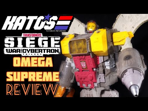 #Transformers War for Cybertron #Siege Omega Supreme Review: Kato's ToyBox Reviews