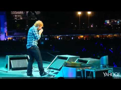 Ed Sheeran - Take It Back/Superstition/Ain't No Sunshine - Rock In Rio 2015