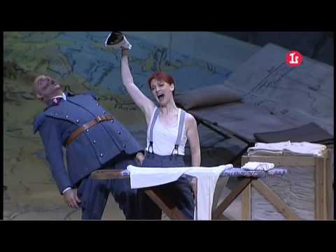 Allons Monsieur... La voilà! La voilà. Ciofi, Spagnoli. Fille du régiment - G. Donizetti