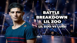 Battle Breakdown with Ronnie and Lil Zoo | Lil Zoo VS Luigi | Red Bull BC One World Final 2018