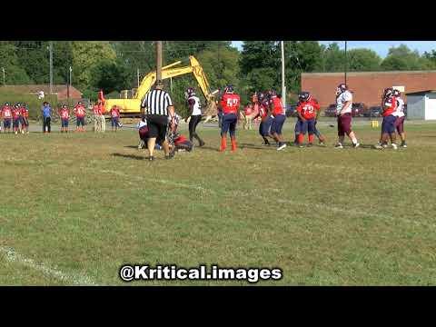 W.E.B. DuBois Middle School Football Team Week 5 Highlights