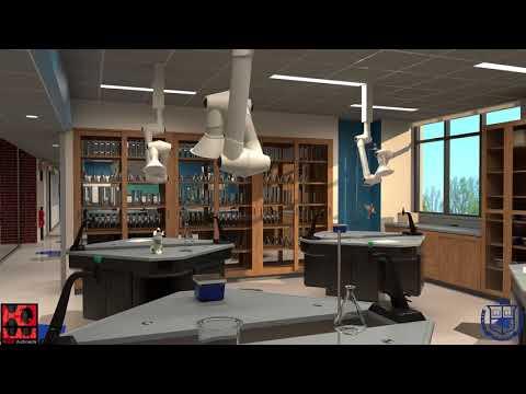 Blair Academy -  Bogle Science Lab by HQW