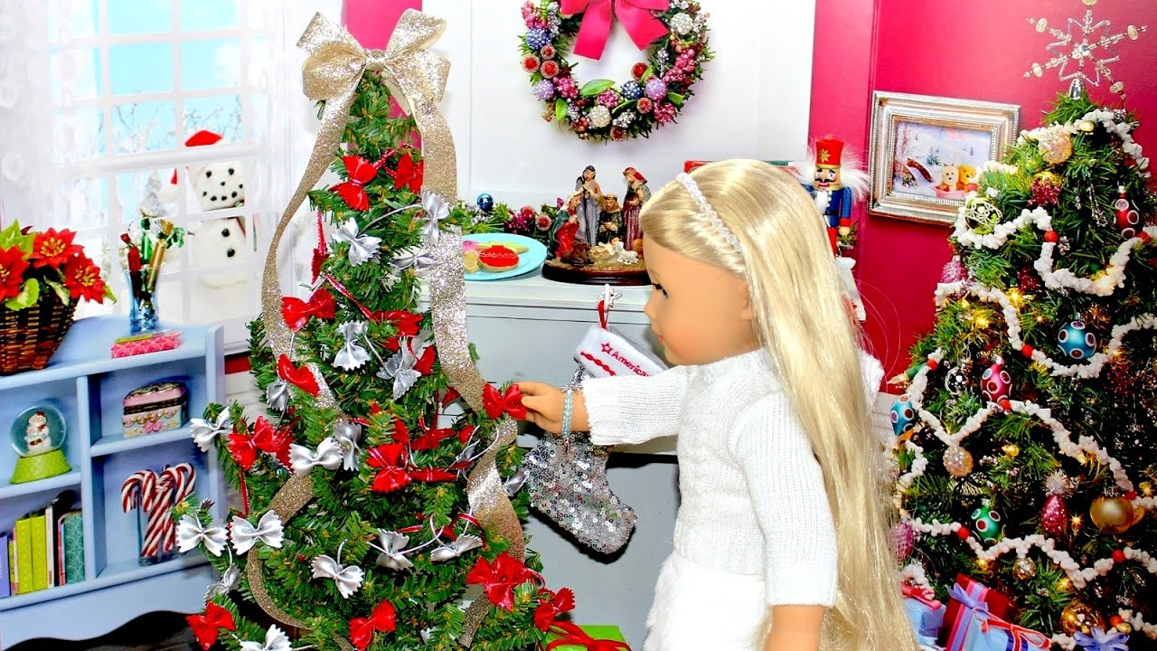Diy American Girl Doll Christmas Tree