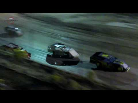 Desert Thunder Raceway IMCA Modified Heat Races 9/29/18