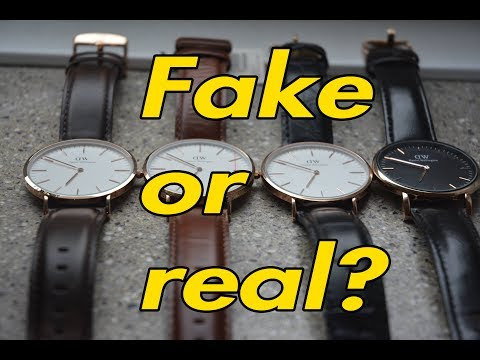 FAKE VS REAL DANIEL WELLINGTON 2017 - TRUTH ABOUT DW + GIVEAWAY INFO *FOR EDUCATION*
