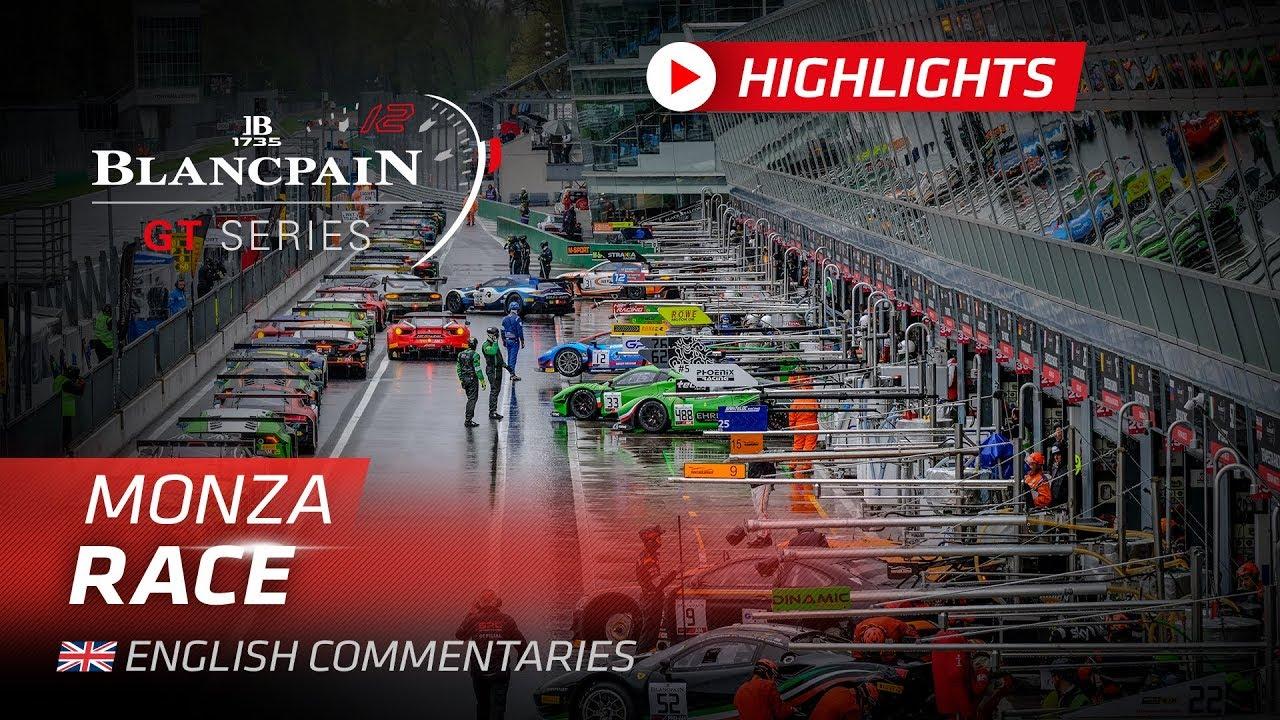 RACE HIGHLIGHTS - Monza - Blancpain GT Series 2019 - Motor Informed