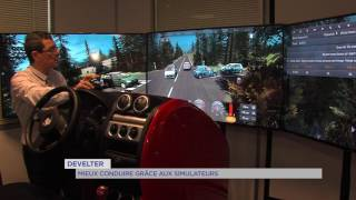 """""""Develter"""" : mieux conduire grâce aux simulateurs"""