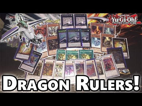 YUGIOH DRAGON RULERS!!! DECK TEST DRAWS & CARD DISCUSSION!