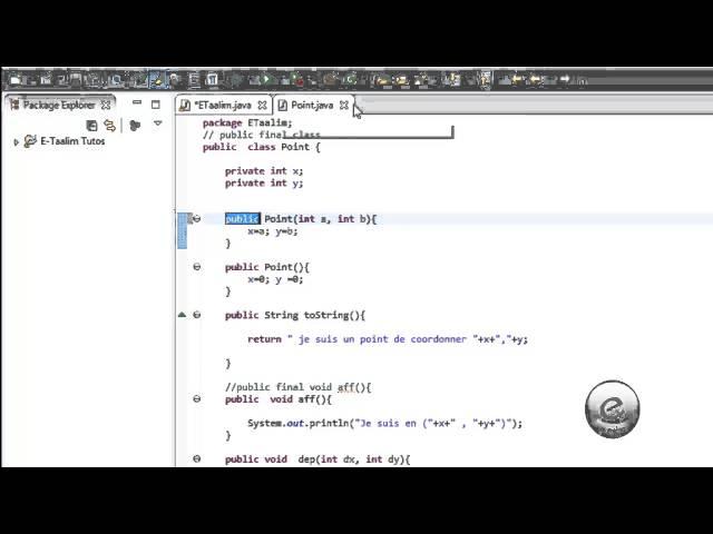 Java : Tableau d'objet