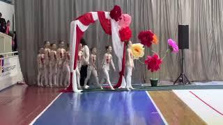Чемпионат Украины Короткая программа Студия эстетической гимнастики Odeliya