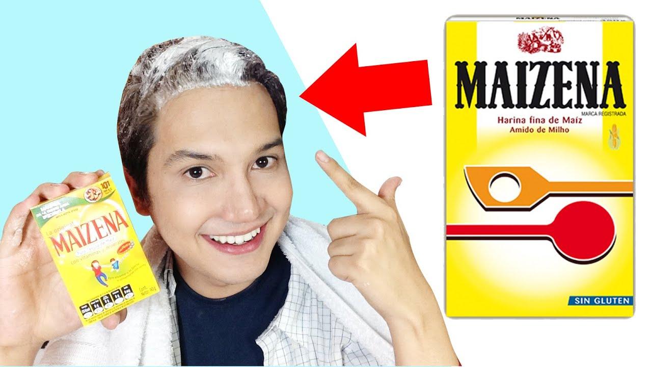 Como alisar el cabello rizado con maizena