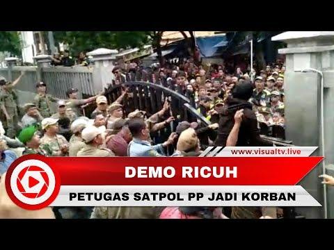 Ricuh Demo di Pemkot Bekasi, Petugas Satpol PP Luka-luka