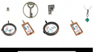 personalized floating charms lockets necklace bracelets wholesale online
