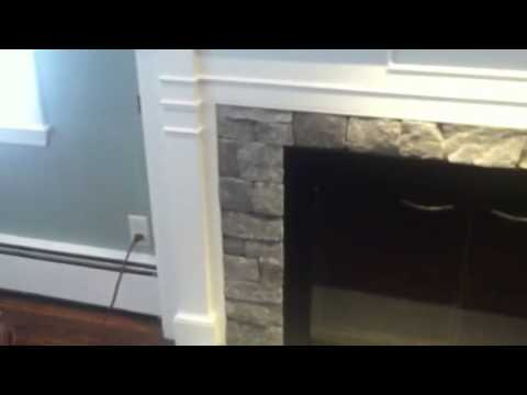 Concord MA fireplace makeover