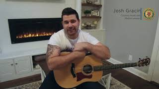 Josh Gracin speaks to Legion Family