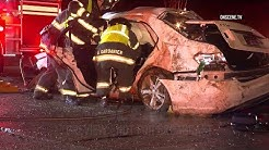 San Jose: Occupants Cut Free From Car After Deadly Rollover Crash