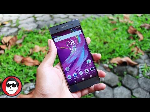 Review Sony Xperia XA Dual - ADUHAI Bodinya, MINIMALIS Fiturnya