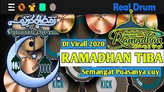 Ramadhan tiba - Dj viral 2020 || Real Drum Cover