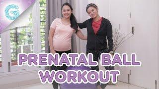 Olahraga dengan Gym Ball untuk Ibu Hamil Adianti Reksoprodjo