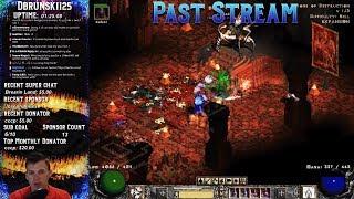 Diablo 2 - Baal runs with Barb!!! 07/13/2018