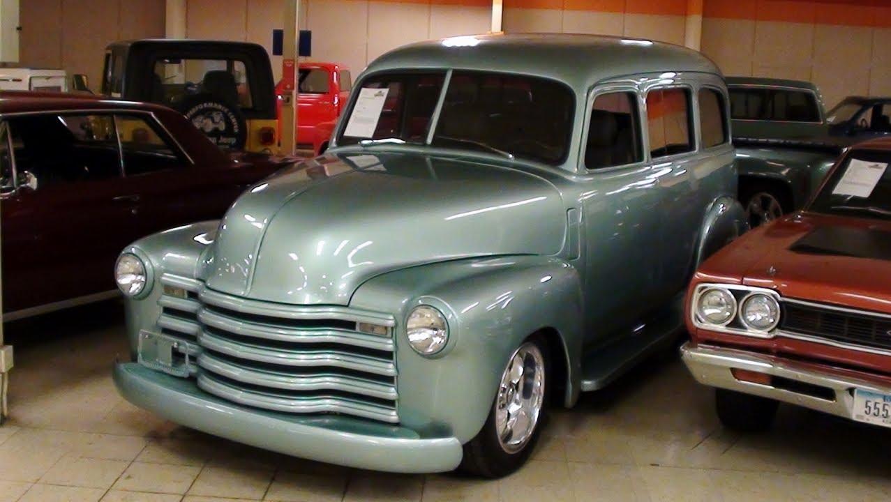 1950 Chevrolet Suburban Custom Street Rod - YouTube