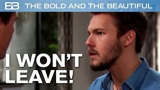 The Bold and the Beautiful / Liam Says NO To Wyatt!