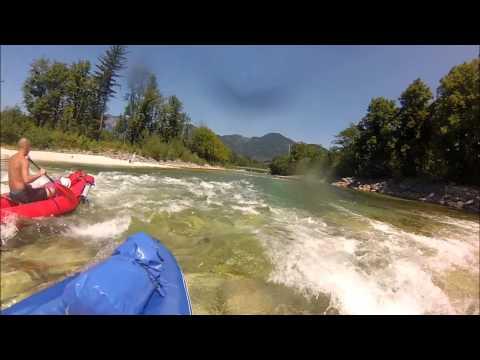 Flusswandern von Laufen bis Ebensee (2013)