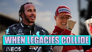 When Legacies Collide | Stories From When Hamilton and Schumacher's Careers Crossed Paths