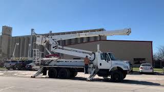 2003 International 7400 Double Elevator Bucket Truck Fort Worth Texas Scott Stoneham NTX