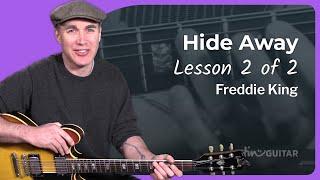 Freddie King - Hide Away Guitar Lesson [2/3] Tutorial Blues How to play Hideaway