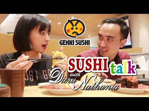 Nyobain Sushi dari Jepang di Jakarta dan Ngobrol bareng Diera Nathania