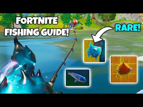 The ULTIMATE Fortnite FISHING Guide! (Tips + Tricks)