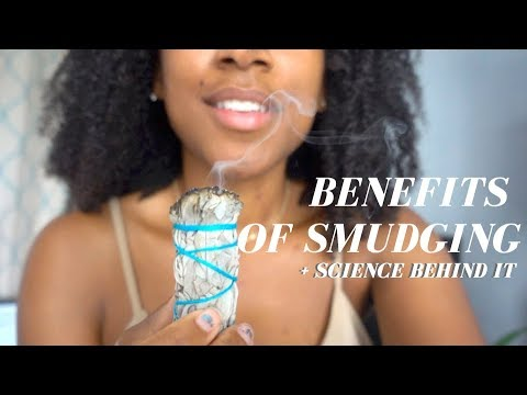 Smudging with Sage BENEFITS + Why I Do It💨