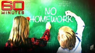 The parents banning their kids from doing homework | 60 Minutes Australia
