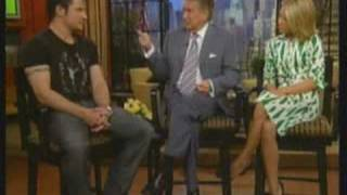 nick lachey what s left of me live regis kelly 09 05 2006