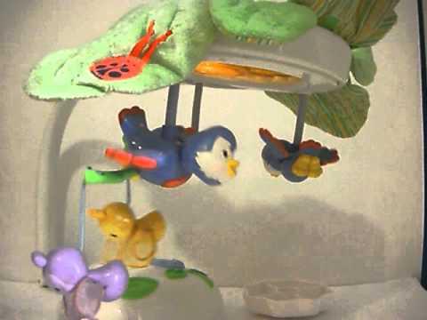 Fisher Price Flutterbye Dreams Lullaby Birdies Mobile