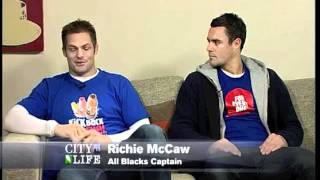 Dan Carter and Richie McCaw interview on CTV.m4v