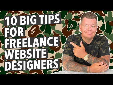 10 TIPS FOR FREELANCE WEB DESIGNERS